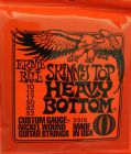 Ernie Ball Skinny Top Heavy Bottom Nickel Wound Set 10 - 52    2215